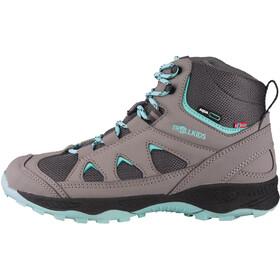 TROLLKIDS Femund Winter Hiker Shoes Kids, gris/Turquesa